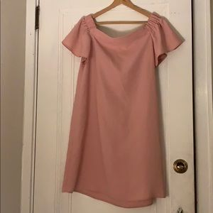 Topshop Womens blush dress-size 10